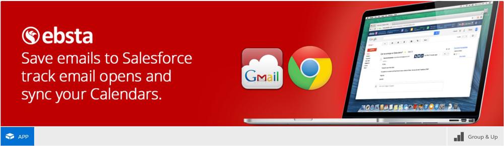 ebsta gmail integration for salesforce